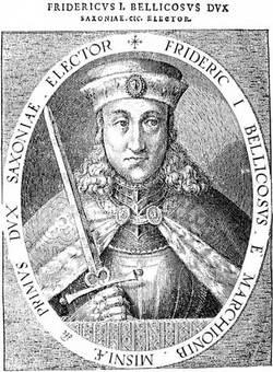 Friedrich IV. / I. von Sachsen