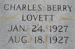 Charles Berry Lovett