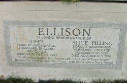 Alice <I>Pilling</I> Ellison