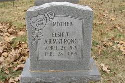 Elsie <I>Morgan</I> Armstrong