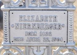 Elizabeth <I>Seib</I> Niernberger