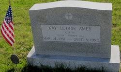 1LT Kay Louise <I>Amey</I> Dill