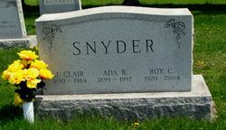 Ada Belle <I>Pitzer</I> Snyder