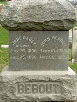 Jane <I>Gault</I> Bebout