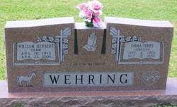 "William Herbert ""Slim"" Wehring"