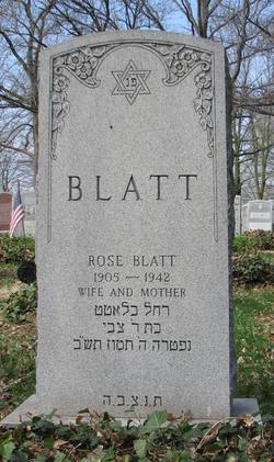 Rose <I>Manlin</I> Blatt