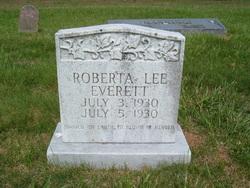 Roberta Lee Everett