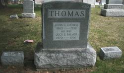 Lucy A. <I>Palmer</I> Thomas