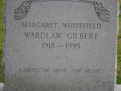 Margaret Whitefield <I>Wardlaw</I> Gilbert