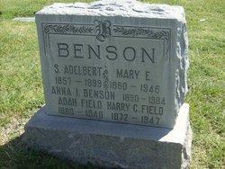 Ada Bell <I>Benson</I> Field