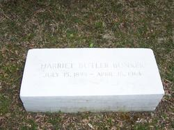 Harriet Allen <I>Butler</I> Bunker