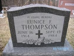 Eunice Frances <I>Logsdon</I> Thompson