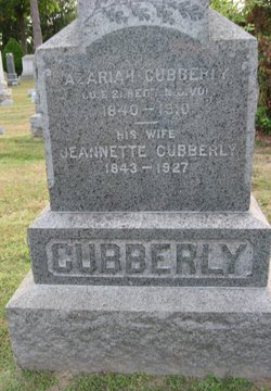 "Jeannette ""Nettie"" <I>Hutchinson</I> Cubberly"