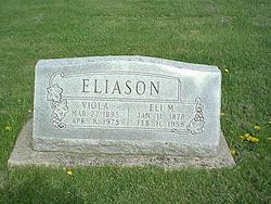 """Elias Martin """"Eli"""" Eliason"""