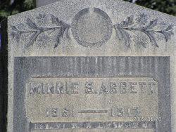 Minnie S. Abbett