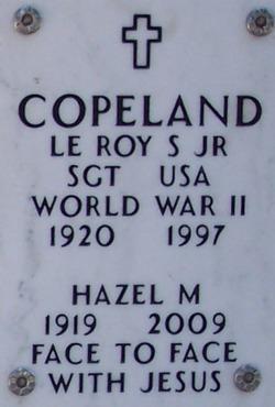 Le Roy S Copeland, Jr