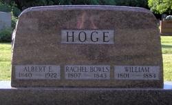 Rachel <I>Bowles</I> Hoge