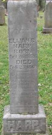 Elijah Bohannan Harp Sr.