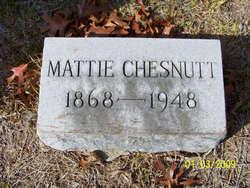 Mattie Retta <I>Rix</I> Chesnutt