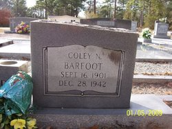 Coley Napoleon Barfoot