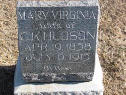 Mary Virginia <I>Middleton</I> Hudson