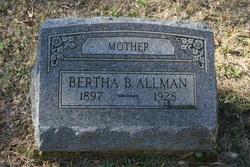 Bertha B Allman