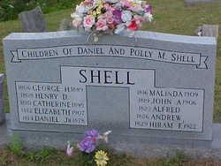 Mary Polly <I>Miller</I> Shell