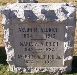 Arlon Mann Aldrich, Jr