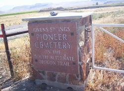 Givens Springs Pioneer Cemetery