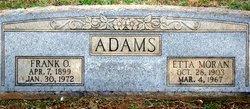 Etta Moran Adams