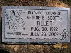 Vennie Elzeaira <I>Miller</I> Allen