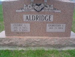 "Cedric L ""Dee"" Aldridge"