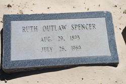 Ruth Gertude <I>Outlaw</I> Spencer