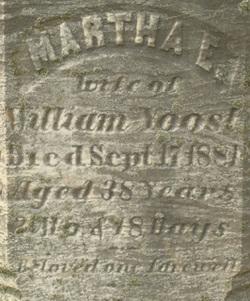 Martha E Yoost