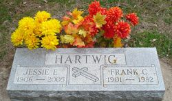 Jessie Edith <I>Wright</I> Hartwig