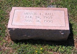 Minnie <I>Landreth</I> Ball