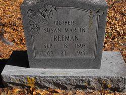 Susan <I>Martin</I> Freeman