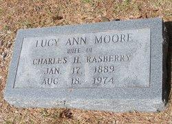 Lucy Ann <I>Moore</I> Rasberry