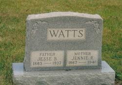 Jennie R <I>Ludington</I> Watts