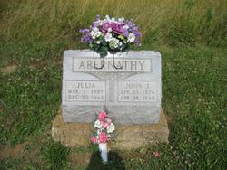 Julia <I>Clifton</I> Abernathy