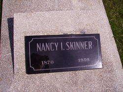 "Nancy Isabelle ""Nannie Belle"" <I>Terry</I> Skinner"
