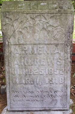Armenia Amanda <I>Bosarge</I> Andrews