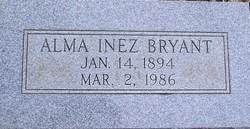 Alma Inez Bryant