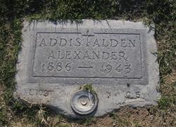 Addis Alden Alexander