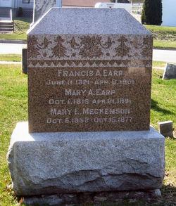 Mary Ellen <I>Earp</I> Meckemson