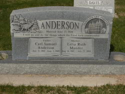 Carl Samuel Anderson