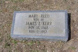 Mary <I>Reed</I> Kerr