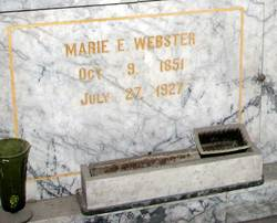 Marie E <I>Church</I> Webster