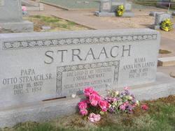 Anna <I>Von Landig</I> Straach