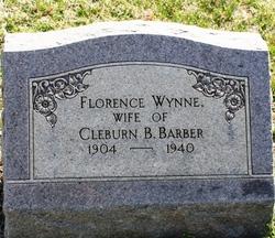 Florence <I>Wynne</I> Barber